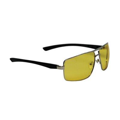 Polarizačné okuliare na šoférovanie Nice Man Style silver YELLOW