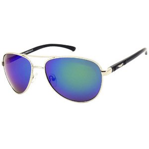 Polarizačné okuliare pilotky Eagle BLUE&GREEN