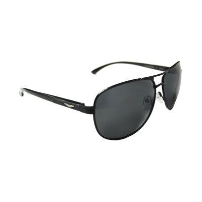 Polarizačné okuliare Pilotky Silver WIngs Business BLACK