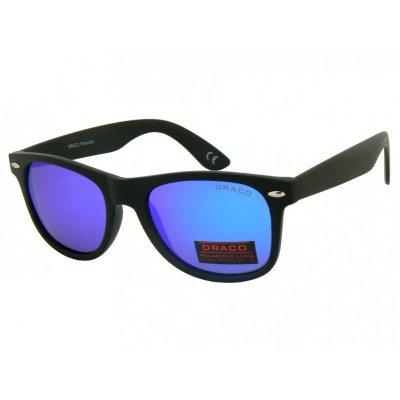 Polarizačné okuliare Wayfarer Black&NewBlue