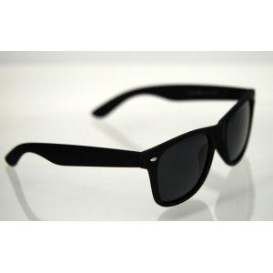 Polarizačné okuliare Wayfarer čierne matné