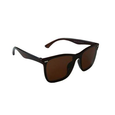 Polarizačné okuliare Wayfarer modern look BROWN