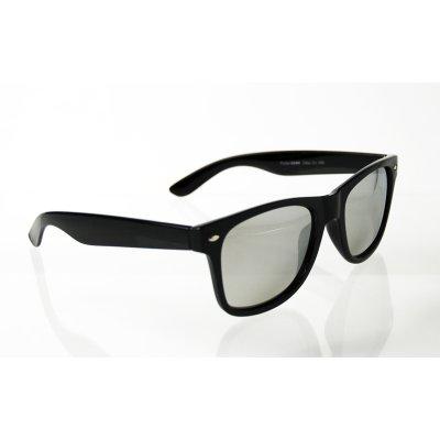 Polarizačné okuliare Wayfarer Silver