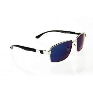 Polarizačné Okuliare Wings Squared silver BLUE&GREEN