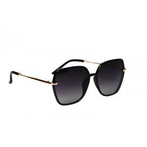 Polarizačné slnečné okuliare Lady Gold Detail BLACK