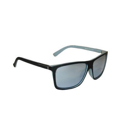 Polarizačné slnečné okuliare Man Metal Tee Gray BLACK matné