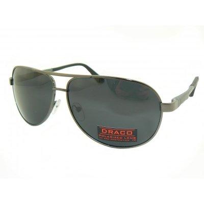 Polarizačné slnečné okuliare Pilotky Marco BLACK