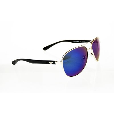 Polarizačné slnečné okuliare silver spiritis BLUE&GREEN