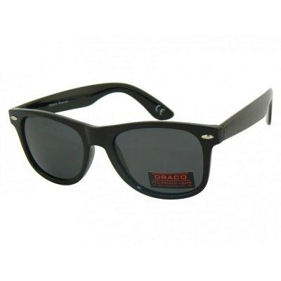 Polarizačné slnečné okuliare Wayfarer KLASIK BLACK