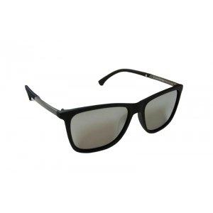 Polarizačné slnečné okuliare Wayfarer Stone Silver matné