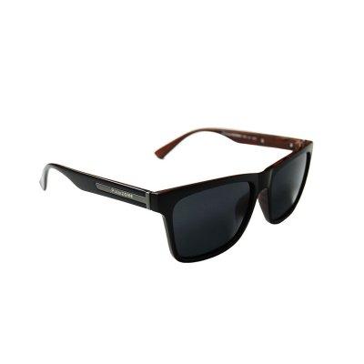 Polarizačné slnečné okuliare Wayfarer Wood effect BLACK