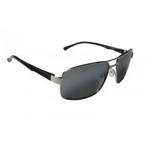 Polarizačné zrkadlové okuliare Polarized black SILVER