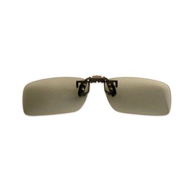 Polarizačný klip na okuliare - fotochromatický - 4,2 cm x 13,8 cm