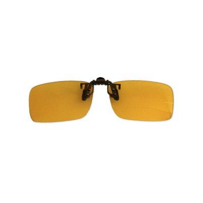 Polarizačný klip na okuliare - na šoférovanie - 3,5 cm x 12,4 cm