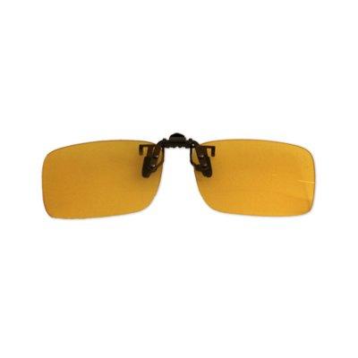 Polarizačný klip na okuliare - na šoférovanie - 3,9 cm x 13,5 cm