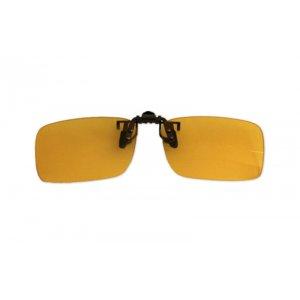 Polarizačný klip na okuliare - na šoférovanie - 4,2 cm x 13,8 cm