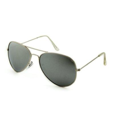 Polarizačné slnečné okuliare Texas strieborné zrkadlové