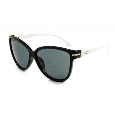 Dámske polarizačné slnečné okuliare DIAMOND style White
