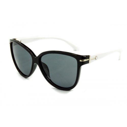Dámske polarizačné slnečné okuliare DIAMOND style White 42898c67bb8