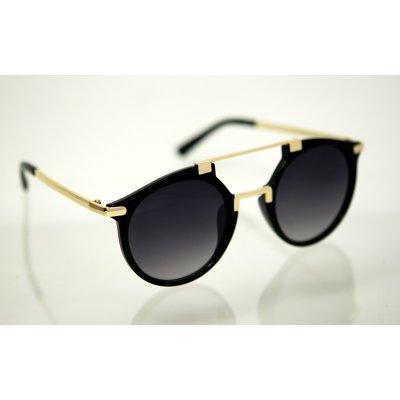 Polarizačné slnečné okuliare clubmaster STAR Black