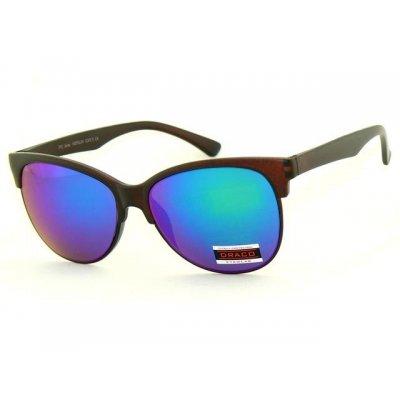 Slnečné okuliare CLEVER hnedé