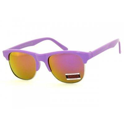 Slnečné okuliare Clubmaster GLOSS PURPLE lesklé
