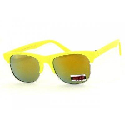Slnečné okuliare Clubmaster GLOSS YELLOW lesklé
