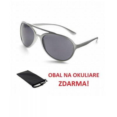 Slnečné okuliare AVIATOR SILVER