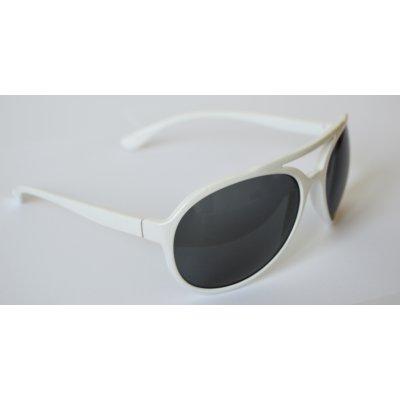 Slnečné okuliare AVIATOR WHITE