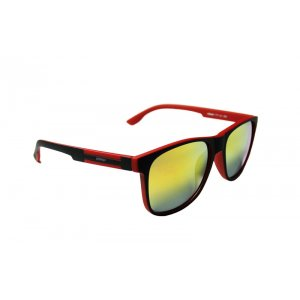 Slnečné okuliare Black Stud DEEP Red BLACK matné