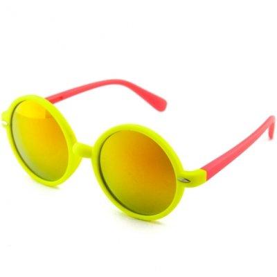 Okuliare Lenonky color zrkadlové gold