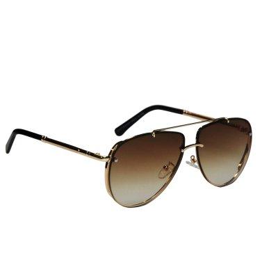 Slnečné okuliare LUXURY Grand Gold BROWN