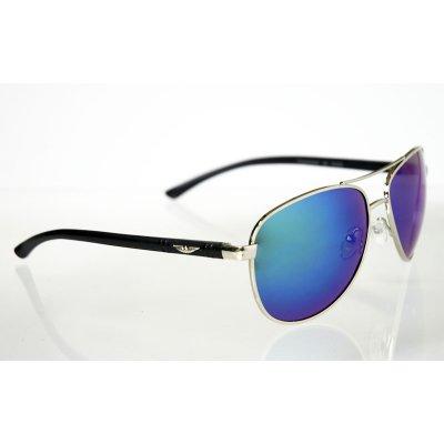 Slnečné okuliare metal green