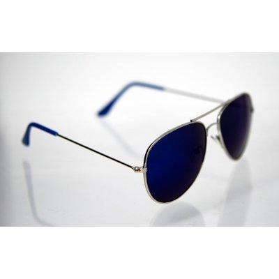 Slnečné okuliare pilotky Clasic Nice BLUE