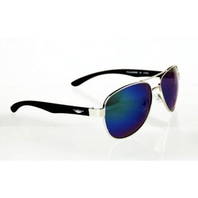 Slnečné okuliare pilotky Double Wings BLUE&GREEN
