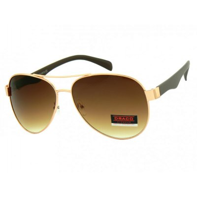 Slnečné okuliare Pilotky EXCLUSIV GOLD