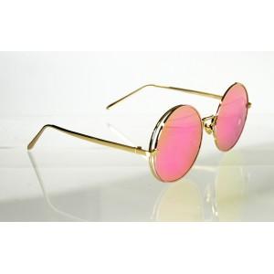 Slnečné okuliare pilotky Exclusive PINK