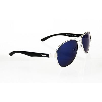Slnečné okuliare pilotky Fly BLUE