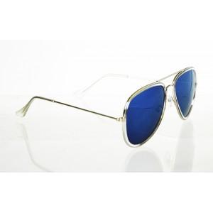 Slnečné okuliare pilotky Frame Line BLUE