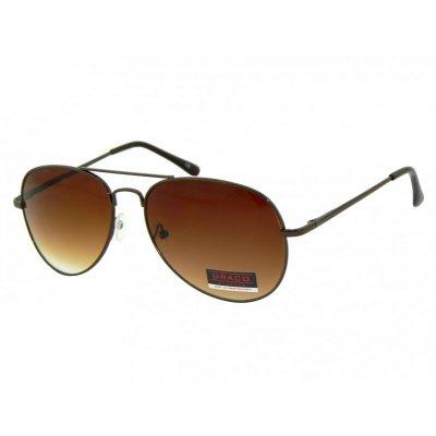 Slnečné okuliare Pilotky IMAGE BROWN