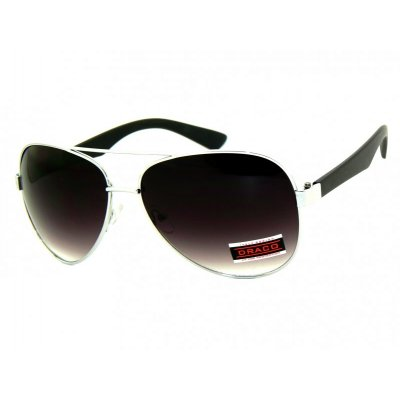 Slnečné okuliare Pilotky Imit Black