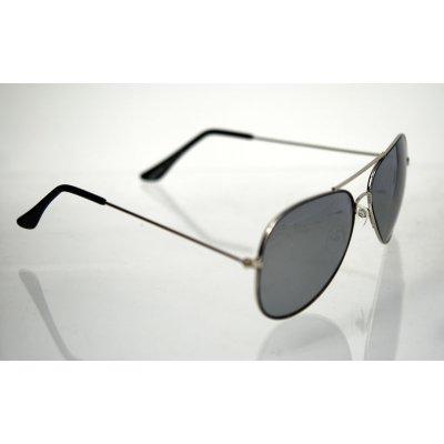 Slnečné okuliare pilotky LineUp Silver