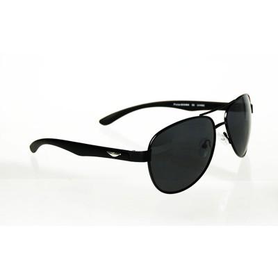 Slnečné okuliare pilotky ManDeep BLACK