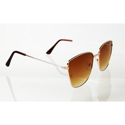 Slnečné okuliare pilotky Neat BROWN