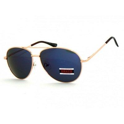 Slnečné okuliare Pilotky ORAC BLUE