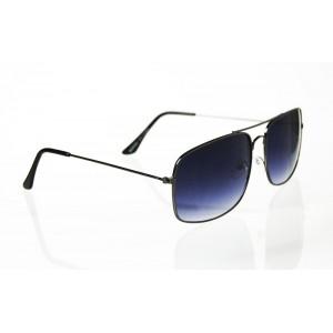 Slnečné okuliare pilotky Rectan gray BLACK