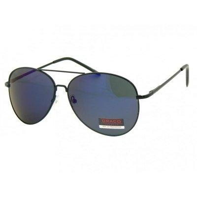 Slnečné okuliare Pilotky SMILE BLUE dark