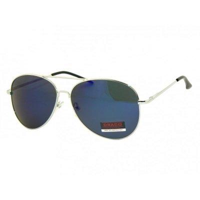 Slnečné okuliare Pilotky SMILE BLUE