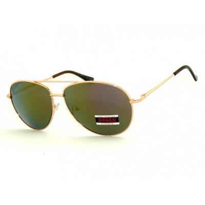 Slnečné okuliare Pilotky SPEED Green