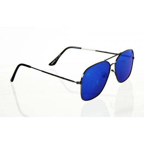 86224ff13 Slnečné okuliare pilotky Square BLUE